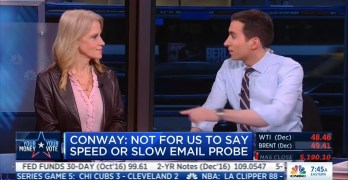 Kellyanne Conway makes light of rape suit against Trump vs email hype (VIDEO)
