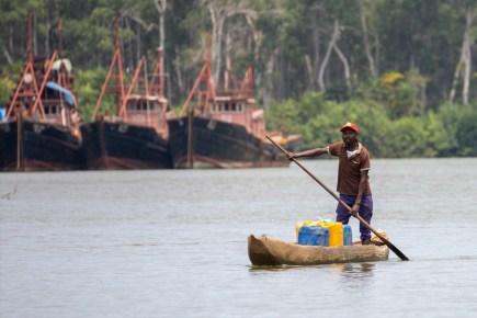 Kouilou River, Congo