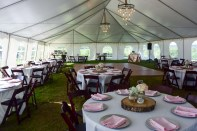 Tent Reception at The Farm