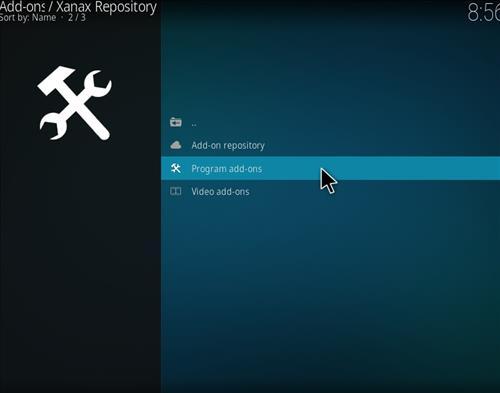 How to install Xanax Build on Kodi 18 Leia step 16