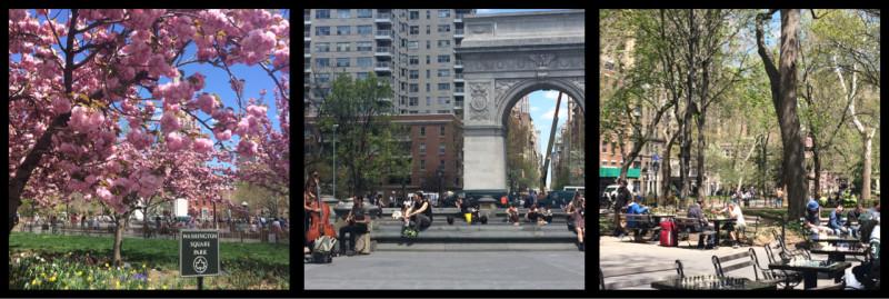 Washington Square Park Manhattan New York City