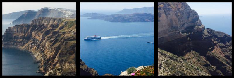 Thira Caldera Santorini Greece