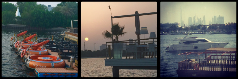 Sundowners @ Dubai Creek Golf & Yacht Club. Deira. Dubai. UAE