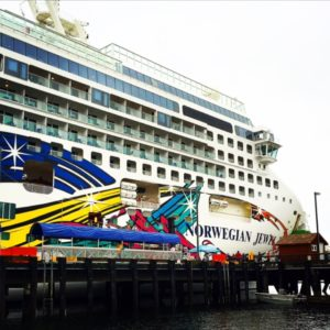 @ Sea Day. Norwegian Jewel. Alaska Cruise