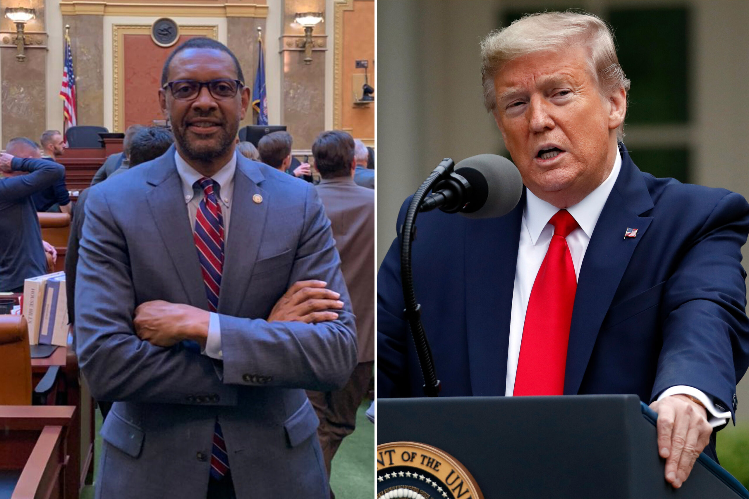 Black Georgia State Rep. Vernon Jones sells his soul with Trump endorsement.