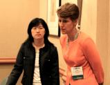 Leilei Zeng (2010 Chair, Canadian Section), Sally Morton (2009 President, American Statistical Association)