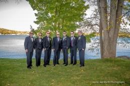 Groomsmen wedding photo