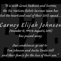RIP Carney Johnson