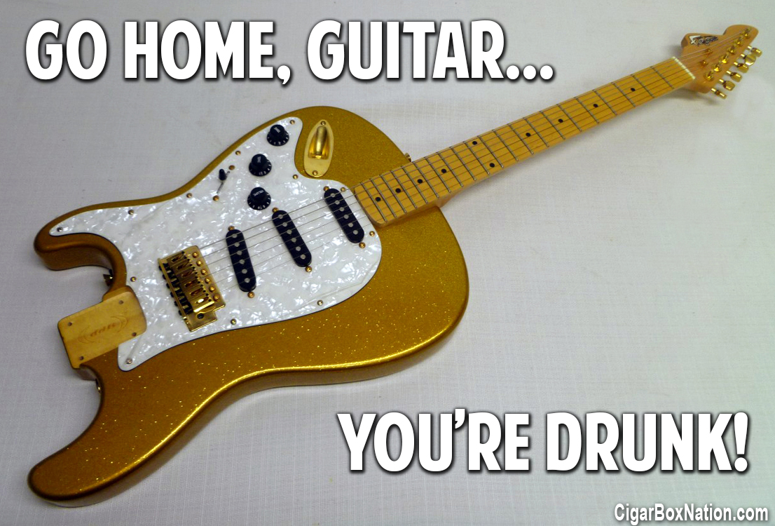 Guitar Meme The How To Repository For The Cigar Box Guitar Movement