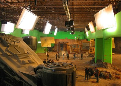 Sound Stage in Montreal, RIDDICK, 2012.