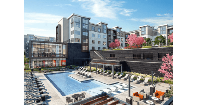 Avalonbay Rebuilds Reopens Edgewater Building After 2017