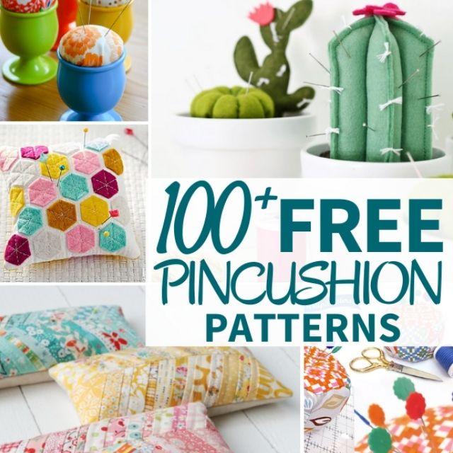 100 Free Pincushion Patterns Feature