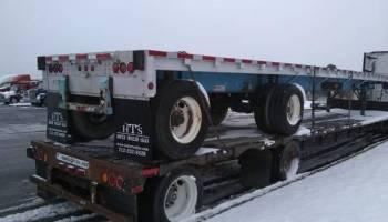 2 Flat Bed Semi Trailers 48 And 53 Foot Salt Lake City Utah 12500 We Buy Semi Trailers Online Call Us Anytime 816 795 8484