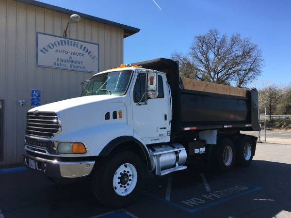 Sterling 10 Wheel Dump Truck Heavy Duty Spec Low Miles New Engine (woodbridge) $38500