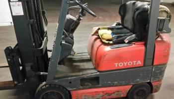 FORKLIFT RENTAL Toyota 8FGCU25 (Santa Fe Springs) $155 - We