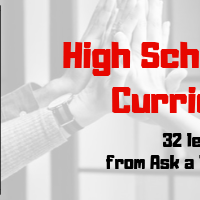 It's Here--the High School Technology Curriculum!