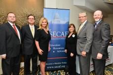 Marta Wilson (TSI) and team at the 8th Annual SECAF Awards Gala