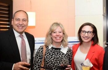 Hany Malik, Suntiva; Sidney Medford, RGi; Lisa Mundt, AOC Key Solutions