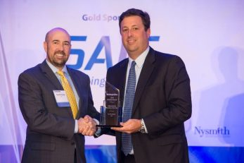 Tim Patterson, CACI, 2018 Cybersecurity Executive of the Year Winner and Donald Thomas