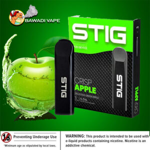 VGOD STIG DISPOSABLE POD DEVICE – CRISP APPLE dubai uae