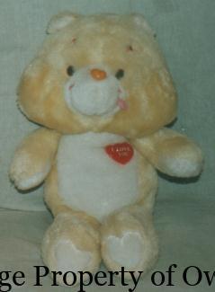 CB I Love You Bear (UK) property thetoyarchive.com