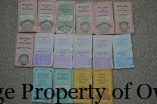 Various Adoption Papers