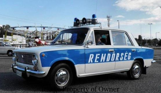 Hungaria police car - author unknown