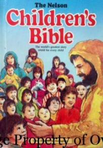 My favourite bible- I still read it on occasion. Love the illustration of Queen of Sheba.