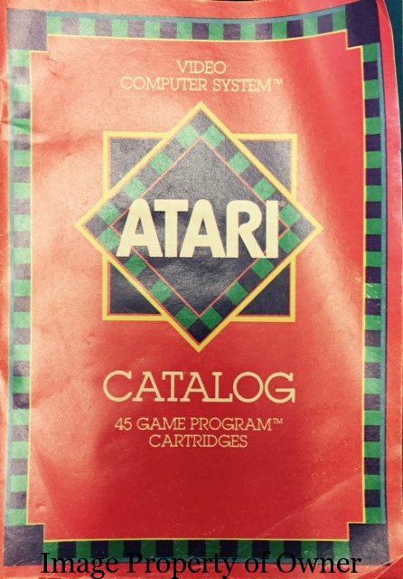Atari Game Catalog