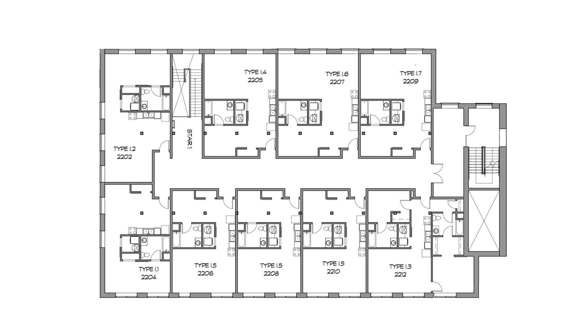 The Picker Building | Second Floor