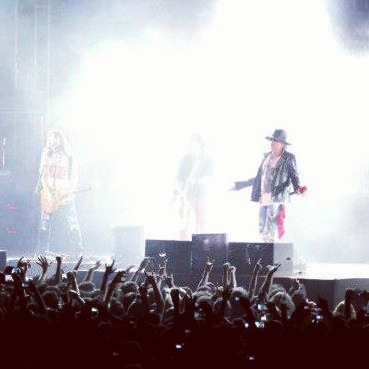 Working for Guns N' Roses India Tour