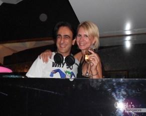 2011 - My birthday with Hussain (DJ Whosane!) at F Bar in Bangalore