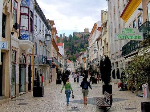 Rua Serpa Pinto, Tomar, Portugal. Photography by Julie Dawn Fox