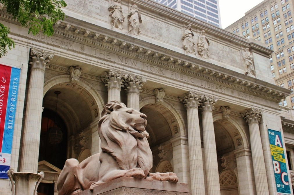 New York Public Library lion New York City NYC JetSettingFools.com