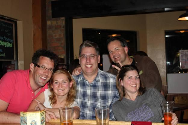 Friends on the Flagstaff Ale Trail in Flagstaff, Arizona