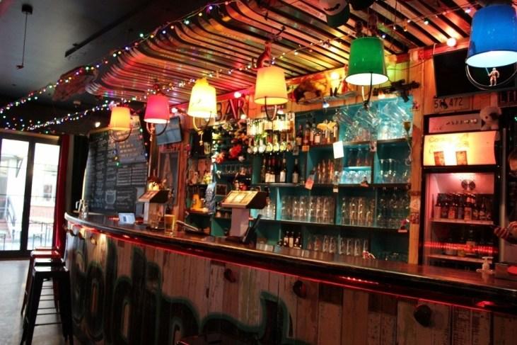 Goldings Free Dive Bar in Wellington, New Zealand