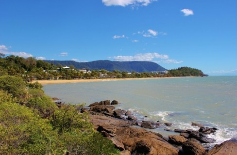 Trinity Beach, one of the Northern Beaches, near Cairns, Australia