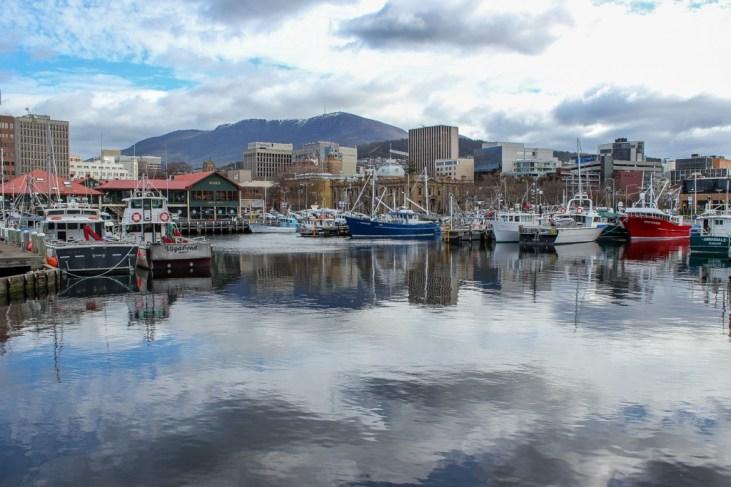 Constitution Docks, Hobart, Tasmania, Australia