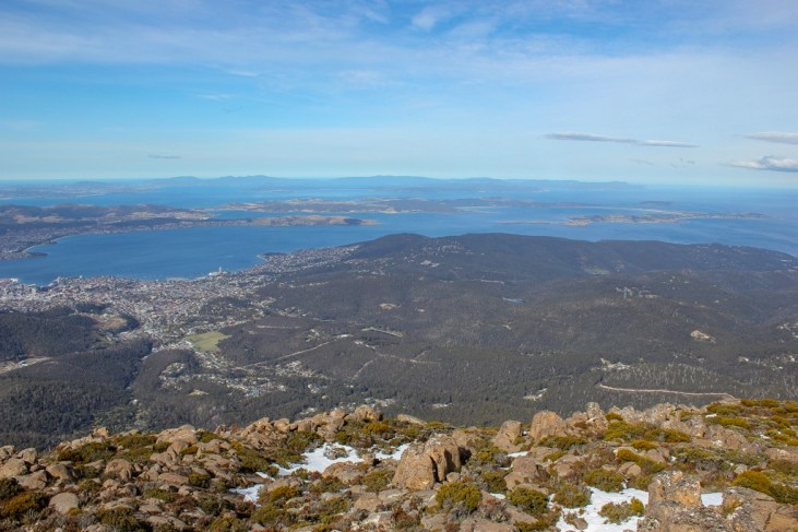 Mt Wellington View, Hobart, Tasmania, Australia