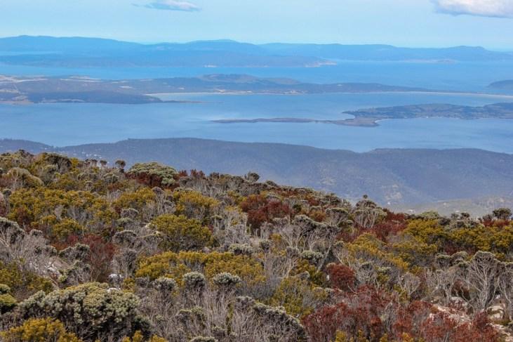 Hiking Mt Wellington, Hobart, Tasmanai
