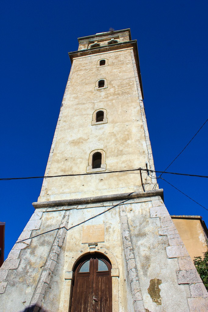 Bell Tower in Skradin, Croatia