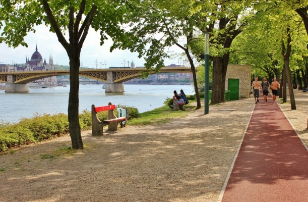 Budapest, Hungary Margaret Island Park Walking Path JetSettingFools.com