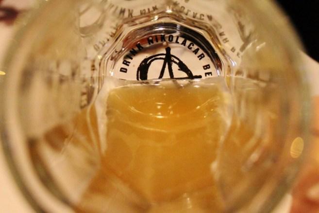 Drink Nikolacar Craft Beer glass in Belgrade, Serbia
