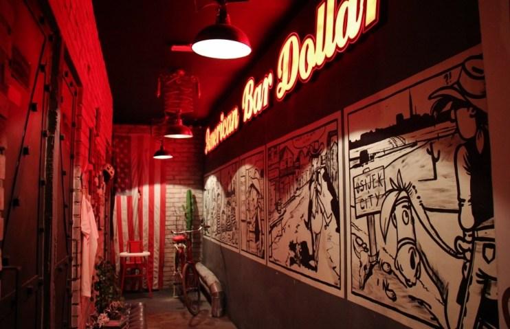 American Bar Dollar in Osijek, Croatia