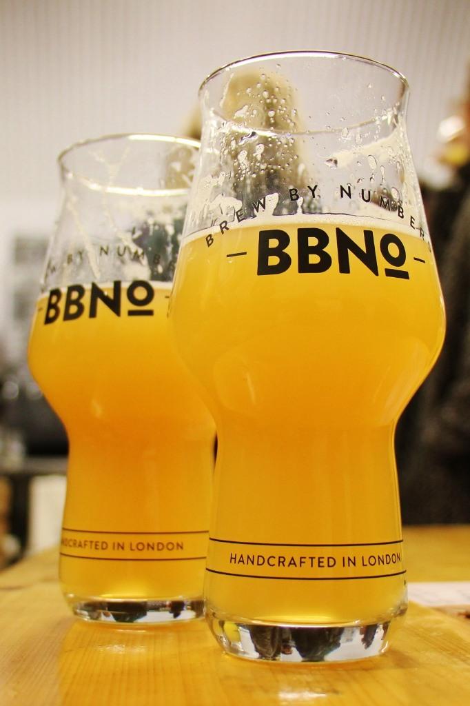 Pints of Beer at Brew By Numbers Taproom, Bermondsey Beer Mile, London Craft Beer Crawl