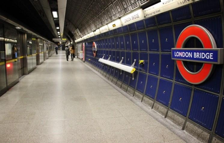 London Bridge Tube Station, London, England, jetsettingfools.com