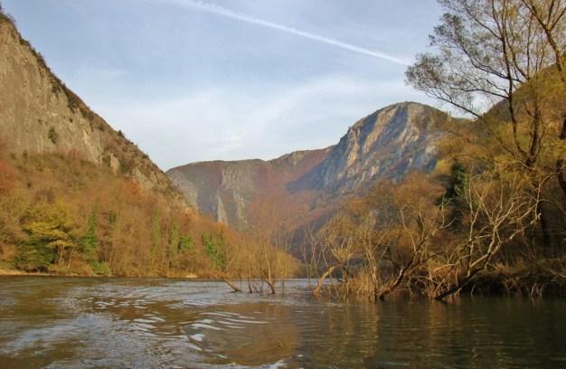 Matka Canyon in Autumn, Skopje, Macedonia