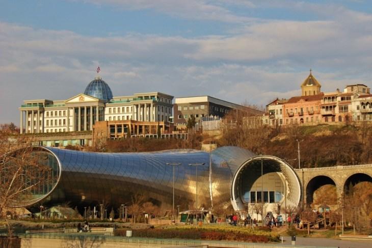 Rike Park and Presidential Palace, Tbilisi, Georgia
