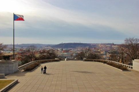 National Monument on Vitkov Hill Terrace Viewpoint, Prague, Czech Republic, JetSettingFools.com