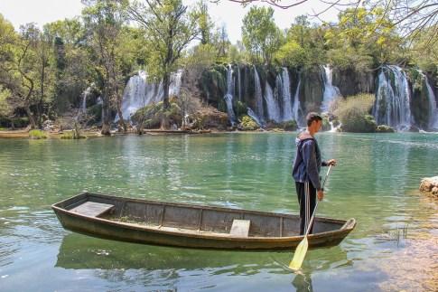 Karvice Waterfalls Boat, Mostar, Bosnia